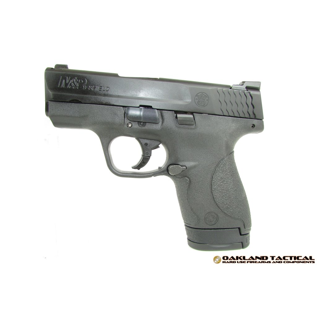 Smith & Wesson (Law Enforcement) Smith & Wesson M&P9 Shield Tritium Night Sights - No Thumb Safety MFG # 10086 UPC Code # 022188867435