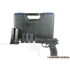 "FNH USA (Law Enforcement) FNH USA FNX-9 MS Black 4.0"" Barrel 9x19mm MFG # 66842 UPC # 845737002053"