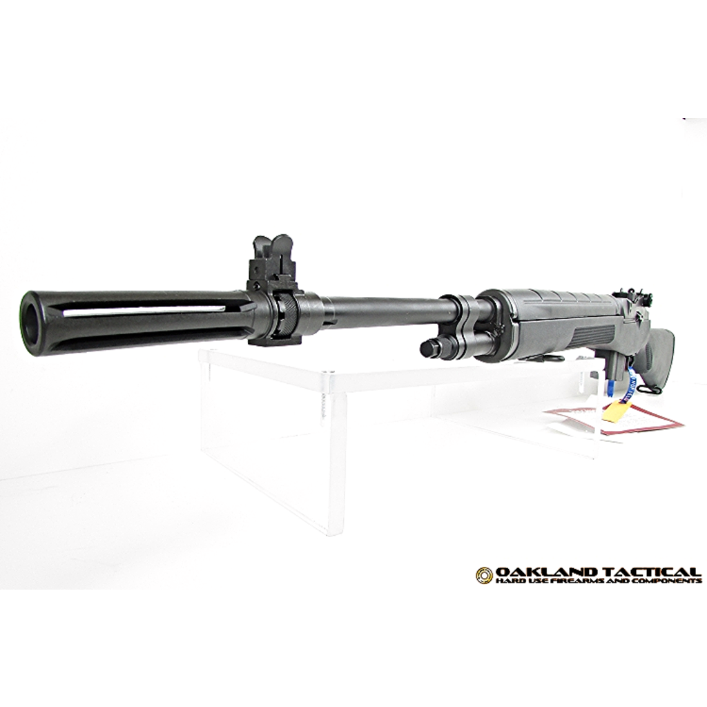 Springfield Armory M1A Black Composite Stock with Standard Profile 22 Inch Parkerized Carbon Steel Barrel MFG #MA9106 UPC  #706397011062