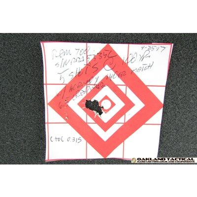 "Oakland Tactical OT-6.5 24"" Douglas XX Barrel Masterpiece Arms Chassis 6.5 Creedmoor OD Green"