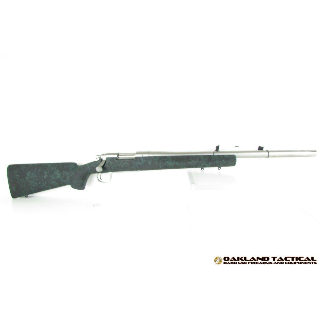 """Remington Model 700 Stainless 5-R 20"""" Threaded Barrel .308 Winchester MFG# 85200 UPC# 047700852003"""
