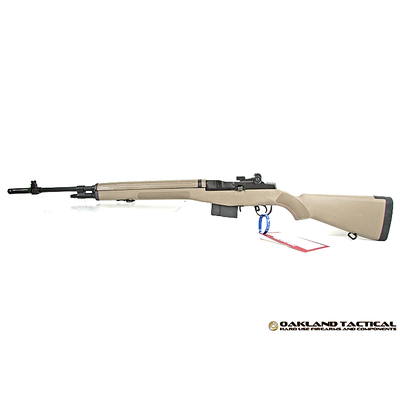 Springfield Armory M1A Flat Dark Earth Stock with Standard Profile 22 Inch Parkerized Carbon Steel Barrel MFG #MA9120 UPC #706397900106