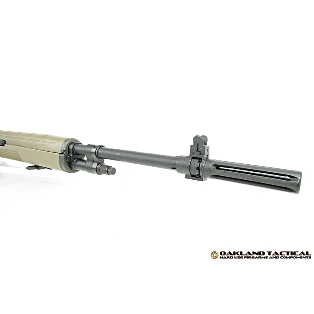 Springfield Springfield Armory M1A Flat Dark Earth Stock with Standard Profile 22 Inch Parkerized Carbon Steel Barrel MFG #MA9120 UPC #706397900106