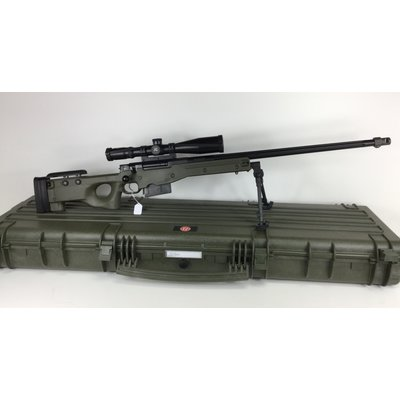 (Pre-owned)(store-consignment) Accuracy International Arctic Wafare Super Mag- 338 Lapua