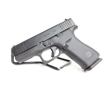 Glock (Blue Label) Glock 43X BLK 9MM Pistol #UPC 764503037900