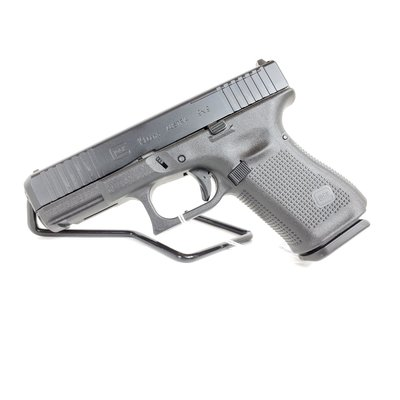 Glock (Blue Label) Glock 19MOS Gen 5 9MM Black W/Front Serrations 15 Round MFG# PA195S202MOSUPC Code# 764503030437