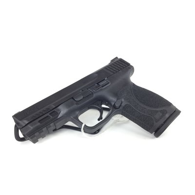 """Smith & Wesson S&W M&P 2.0 9MM 4"""" 15RD BLK NMS FS UPC# 022188874419"""