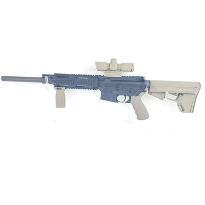 Olympic Arms (Pre-Owned) Olympic Arms AR-15 W/ Monstrum Optic