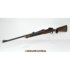 "(Pre-owned) Mossberg Patriot .375 Ruger 22"" Rifle with Walnut stock and Adjustable Rifle Sights comes with canvas rifle sock"