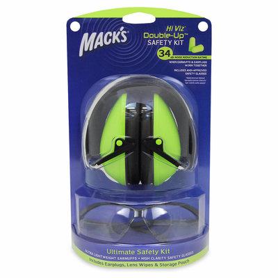 Macks Hi Viz Shooting Safety Kit Green MFG# 4469 UPC# 033732044691