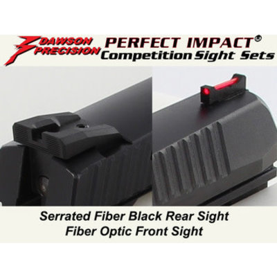Dawson Precision Night Sights Front and Rear CZ P09