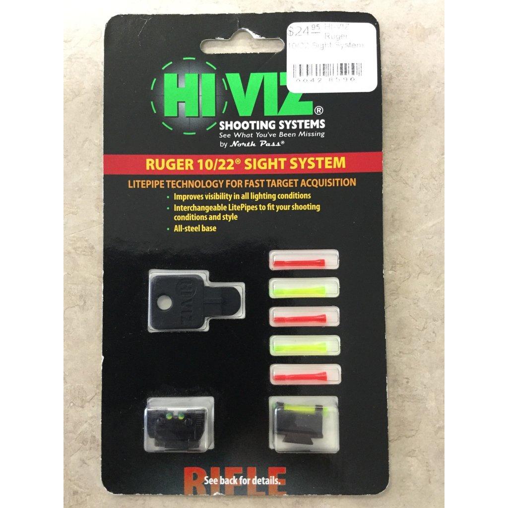 HI-VIZ Ruger 10/22 Sight System