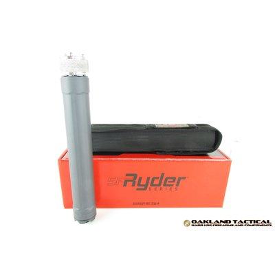 Surefire Surefire SF Ryder 9Ti Sound Suppressor Grey 1/2x28 MFG #SF RYDER 9-TI-1/2-28-GY UPC #084871324687
