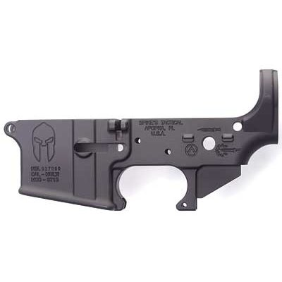 Spike's Tactical Spike's Tactical, Spartan, Semi-automatic, Lower, 223 Rem, 556NATO,Black, Non-Color