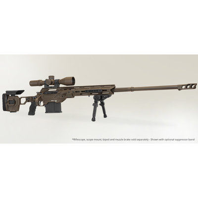 "Cadex Defence Precision Rifle CDX-40 Shadow 29"" Barrel .408 Cheytac MFG # CDX40-DUAL-408-29"