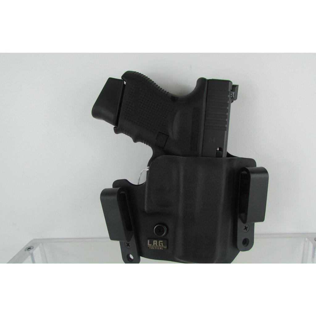 L.A.G. Tactical Glock 26/27/33 RH Holster MFG# 1004 UPC Code# 811256020038