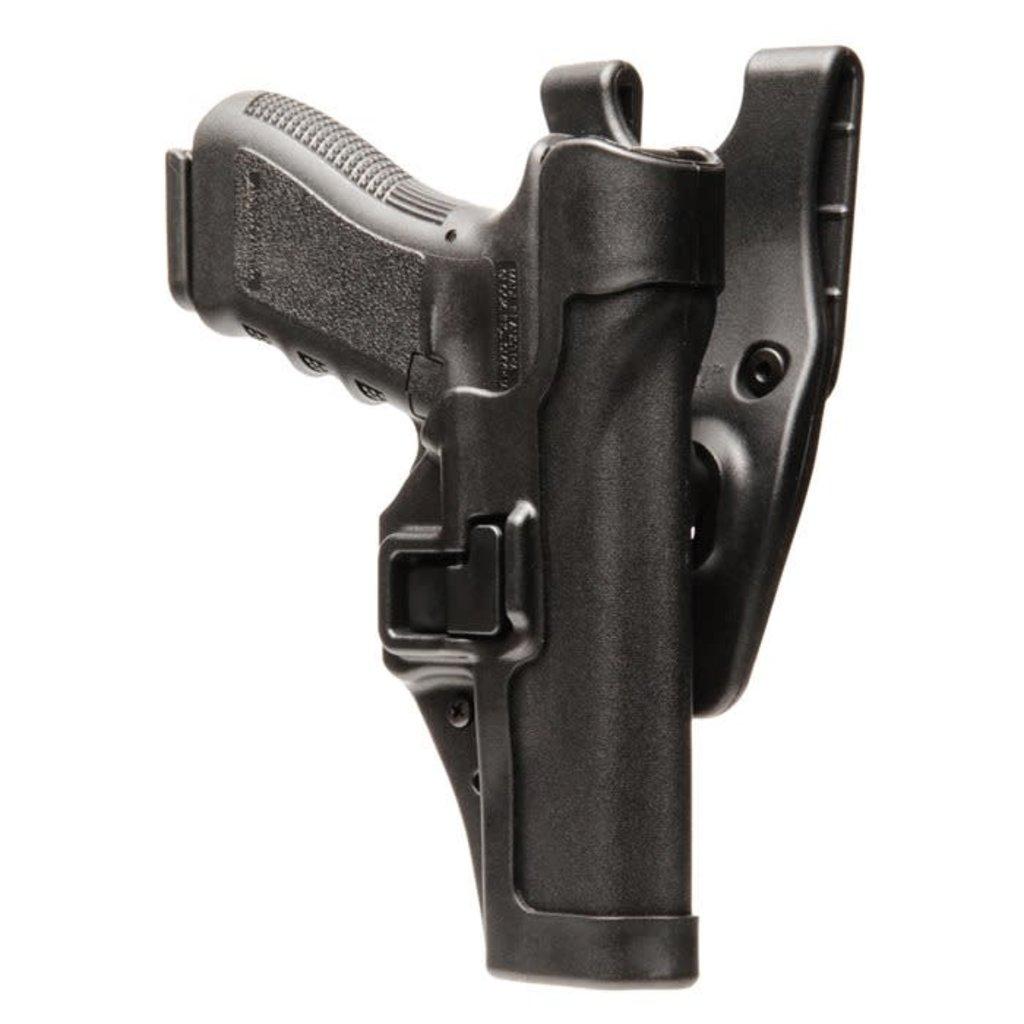 Blackhawk! SERPA Level 2 Auto-Lock Duty Holster Right Hand Glock 20 MFG# 44H013BK-R UPC# 648018042874