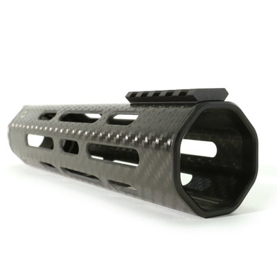 Lancer Lightweight M-LOK 15XL Handguard W/full length Rail- BLK