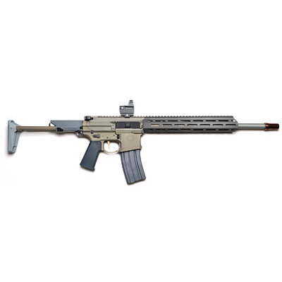 "Q Q HONEY BADGER 300BLK 16"" 30RD FDE MFG# HB-300BLK-16IN UPC# 866955000348"