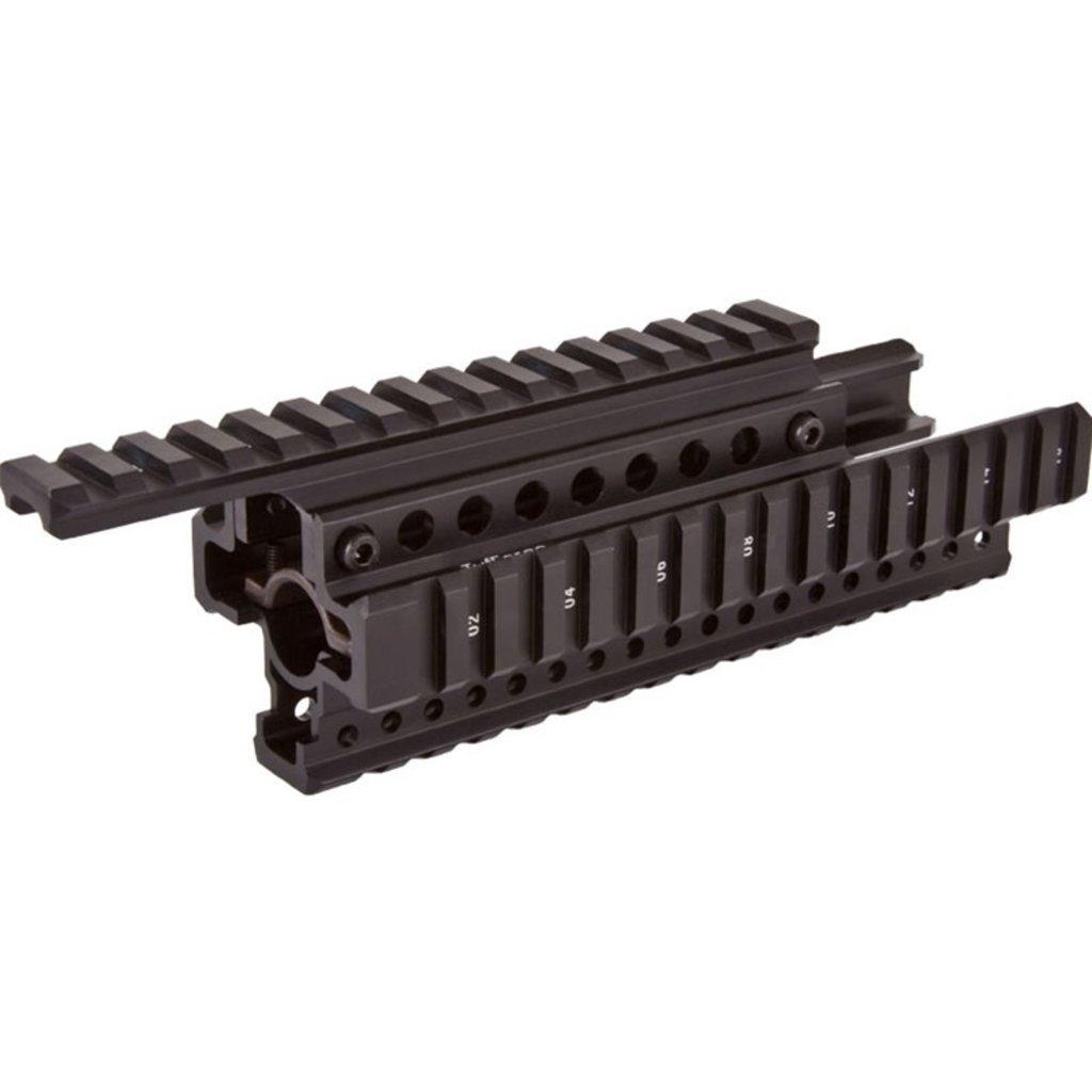 TuffZone Quad Rail Hand Guard for VZ58/CZ858 MFG # TZ-MZ4