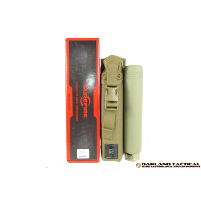 Surefire Surefire SOCOM338-Ti Socom Titanium Series Fast-Attach Sound Suppressor MFG # SOCOM338-Ti-DE UPC Code # 084871324144
