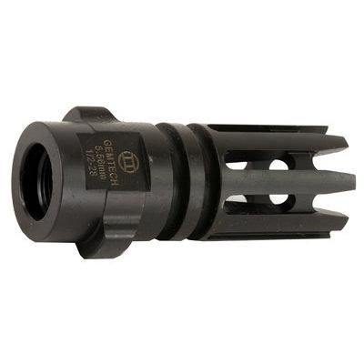Gemtech GEMTECH 5.56mm Flash hider 1/2-28 upc# 609224348037 mfg# QM-G5-FH
