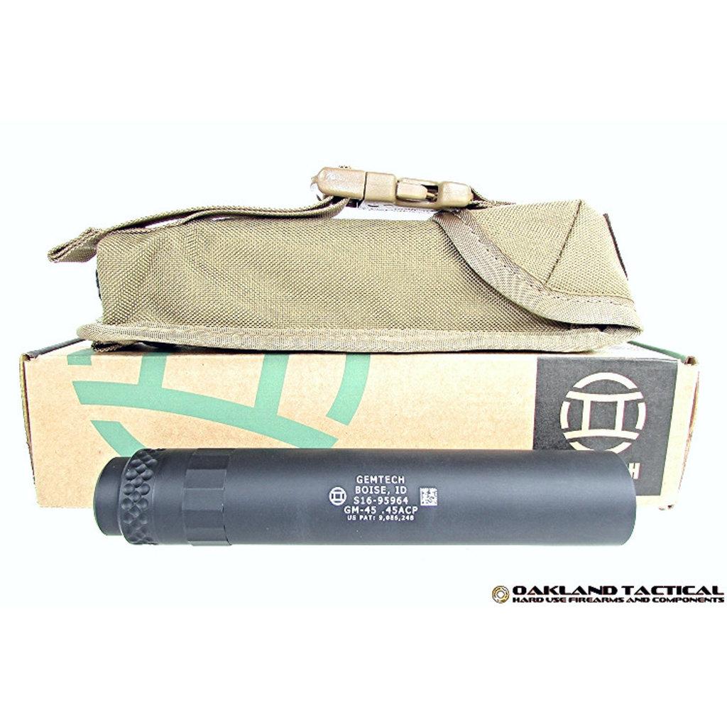 Gemtech Gemtech GM-45 Suppressor MFG # GM-45
