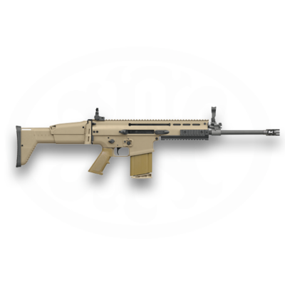 "FNH USA (Law Enforcement) Scar 17S 16.25"" Barrel 7.62x51mm Flat Dark Earth MFG # 98552 UPC # 845737002367"