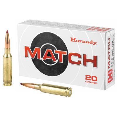 Hornady 6.5 Creedmoor 140 Grain ELD Match 20 Cartridges MFG # 81500 UPC Code # 090255815009