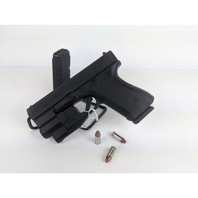 Glock (Consignment) Glock 23 Gen 3 w/ Laser Sight and 2 magazines. No case.