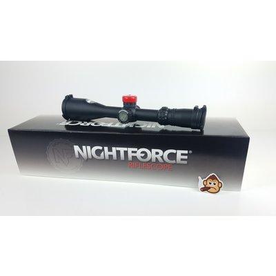 Nightforce Nightforce NX8 - 4-32X50mm F1 - ZeroStop™ - .1 Mil-Radian - DigIllum™ - PTL - TReMoR3