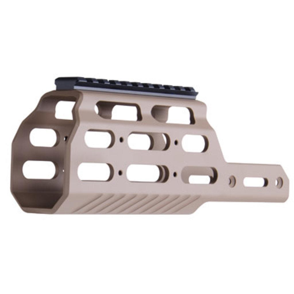 KRISS VECTOR MK1 MODULAR RAIL FDE MFG# KVA-VMRFD01 UPC# 810237027486
