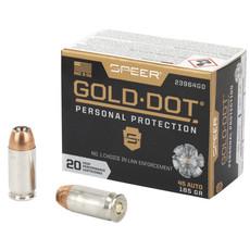 SPR GOLD DOT 45ACP 185GR HP 20/200 MFG# 23964GD UPC# 604544647273