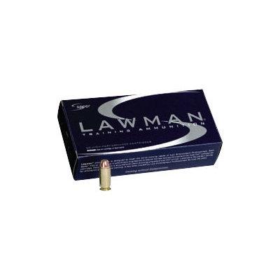 CCI/Speer SPR LAWMAN 38SPL+P 158GR TMJ 50/1000 MFG# 53750 UPC# 076683537508