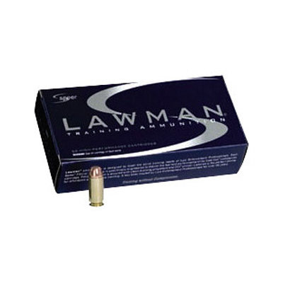 CCI/Speer SPR LAWMAN 9MM 147GR TMJ 50/1000 MFG# 53620 UPC# 076683536204