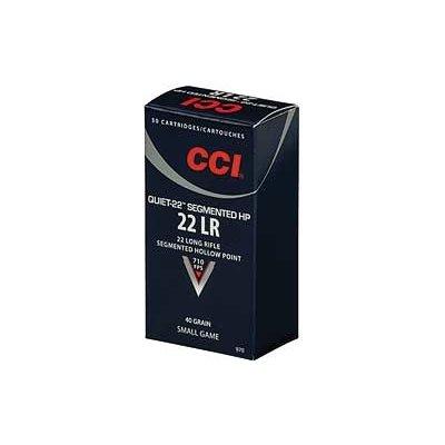 CCI/Speer CCI QUIET SEGMENTED 22LR 40GR HP 50/ MFG# 970 UPC# 076683009708