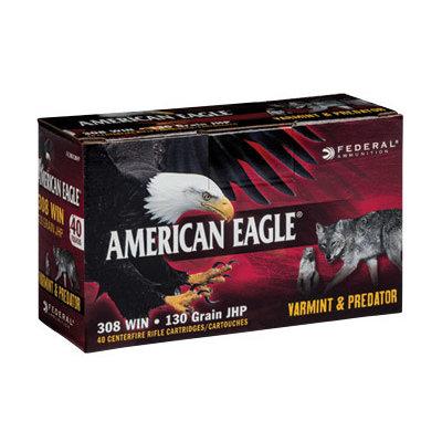Federal FED AM EAGLE V&P 308WIN 130GR 40/200 MFG# AE308130VP UPC# 604544617641