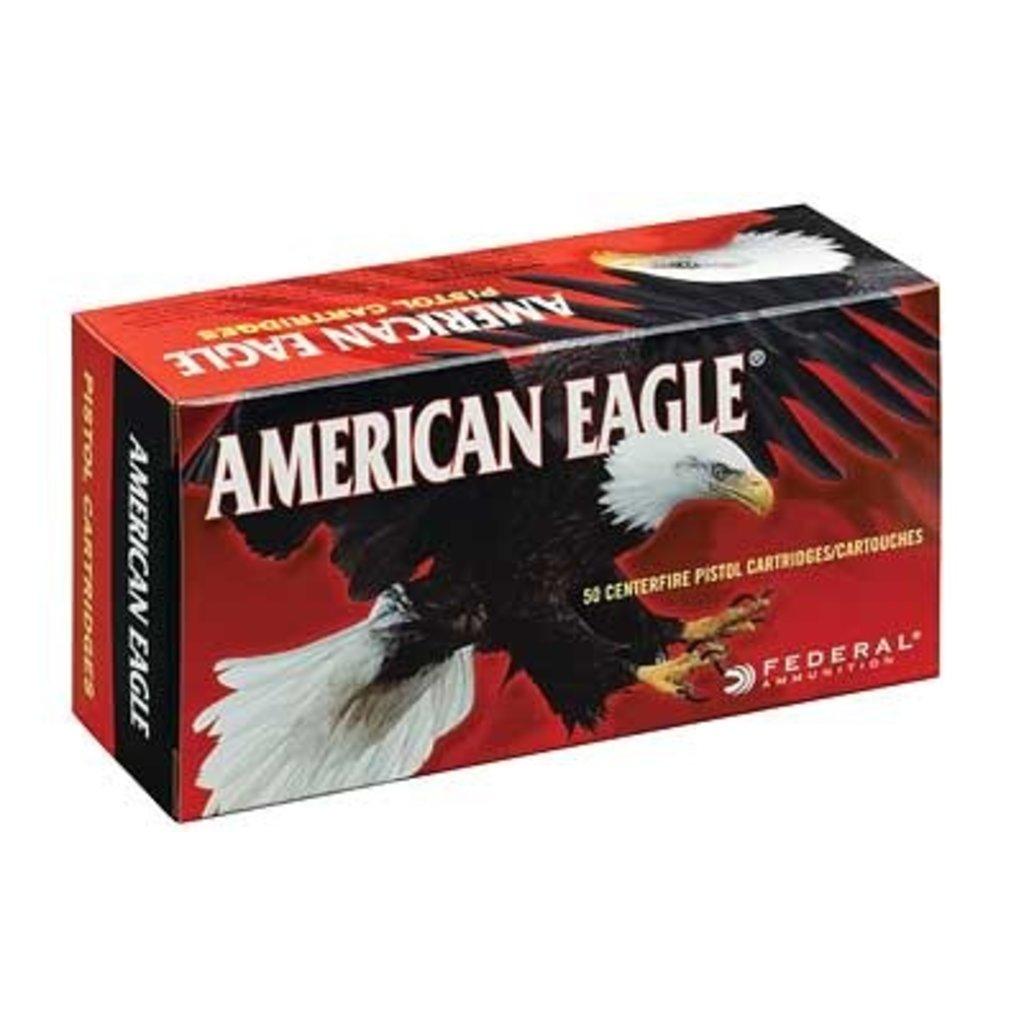 Federal FED AM EAGLE 40SW 180GR FMJ 50/1000 MFG# AE40R1 UPC# 029465092542