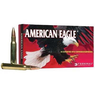 Federal FED AM EAGLE 3006 150GR FMJBT 20/500 MFG# AE3006N UPC# 029465085322