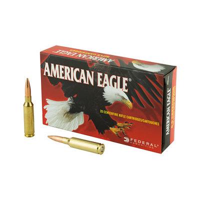 Federal FED AM EAGLE 6.5CRD 120GR OTM 20/200 MFG# AE65CRD2 UPC# 604544630343