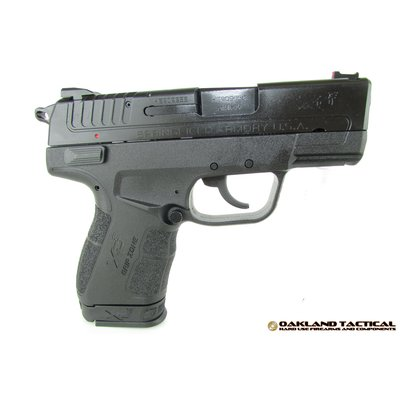 "Springfield Springfield Armory XD-E 3.3"" Single Stack 9x19mm Black MFG # XDE9339BE UPC # 706397913670"