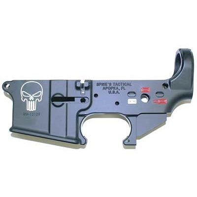 Spike's Tactical SPIKES TACTICAL PUNISHER STRIPPED LOWER RECEIVER