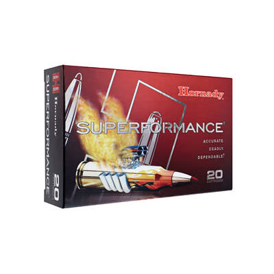 Hornady HORNADY SUPER PERFORMANCE 3006 165GR SST 20/200 MFG# 81153 UPC# 090255811537