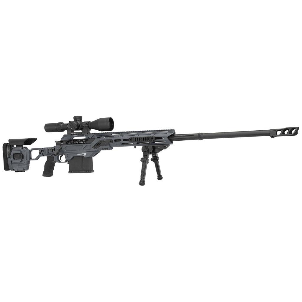 """Cadex Defence Shadow Rifle Hybrid Gray CDX-40 32"""" Barrel .375 Cheytac MFG # CDX40-DUAL-375-32"""
