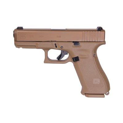"Glock Glock19X Semi-Auto Compact 4.02"" 9mm 19rd Coyote MFG# UX1950703 UPC# 764503040313"
