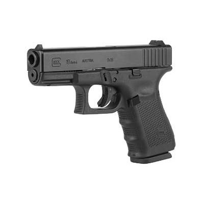 Glock GLOCK 19 GEN4 9MM 15RD 3 MAGS MFG# UG1950203 UPC# 764503000911