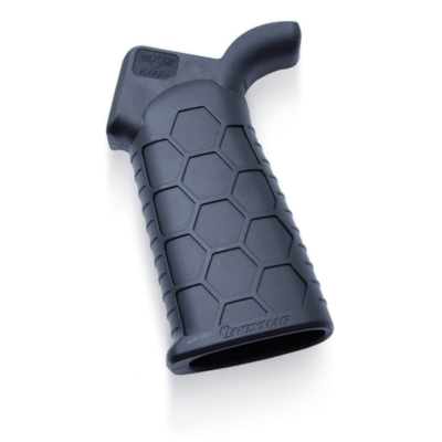 Hexmag Advanced Tactical Grip AR10/AR15 Tactical Grips with Three-Angle Adjustment Black MFG # HX-ATG UPC # 085992200508
