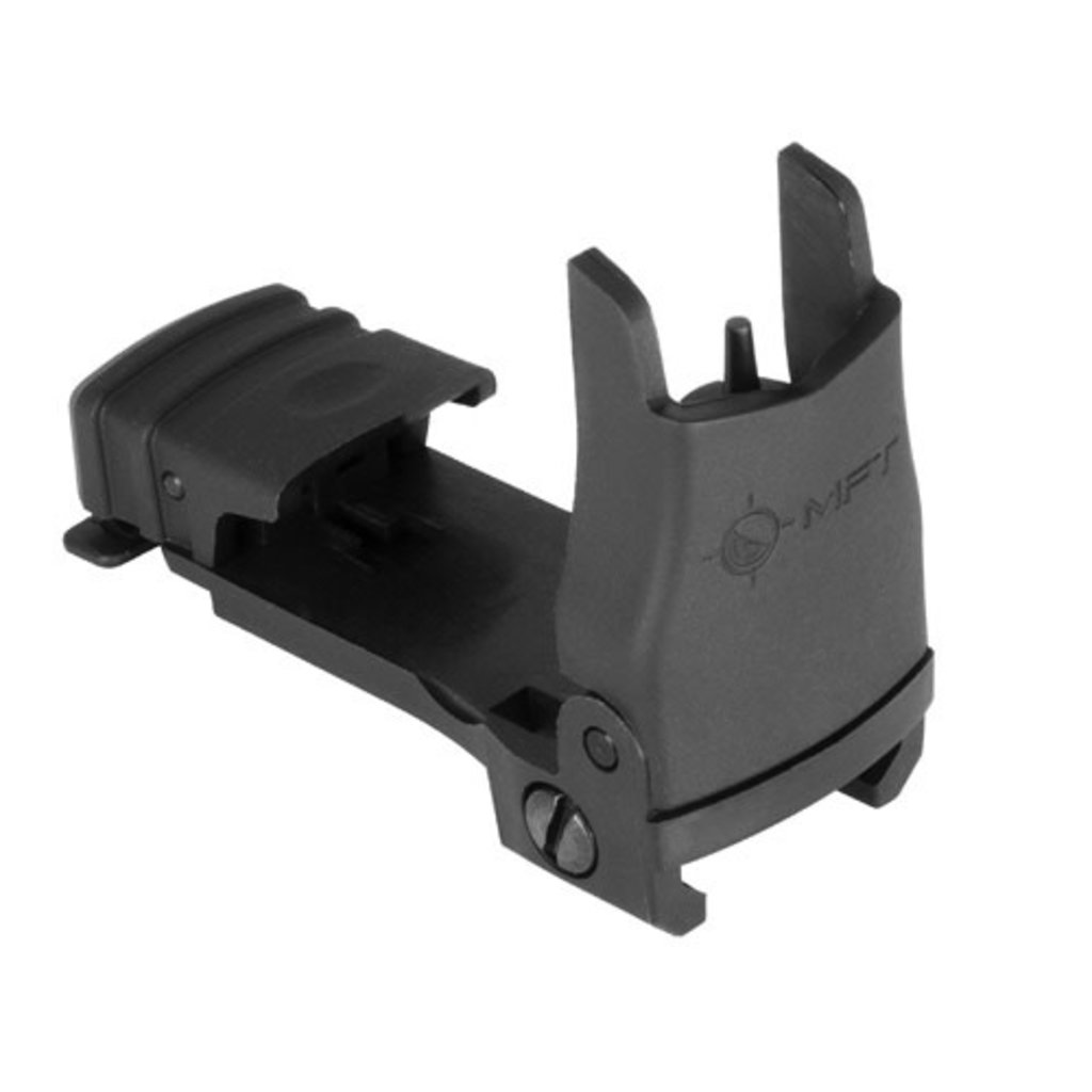 Mission First Tactical Back Up Polymer Flip Up Front Sight with Standard Iron Sight Elevation Adjustment MFG # BUPSWF UPC # 676315033103
