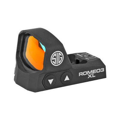 Sig Sauer SIG ROMEO3 XL REFLEX SIGHT 6MOA BLK MFG# SOR32004 UPC# 798681618361