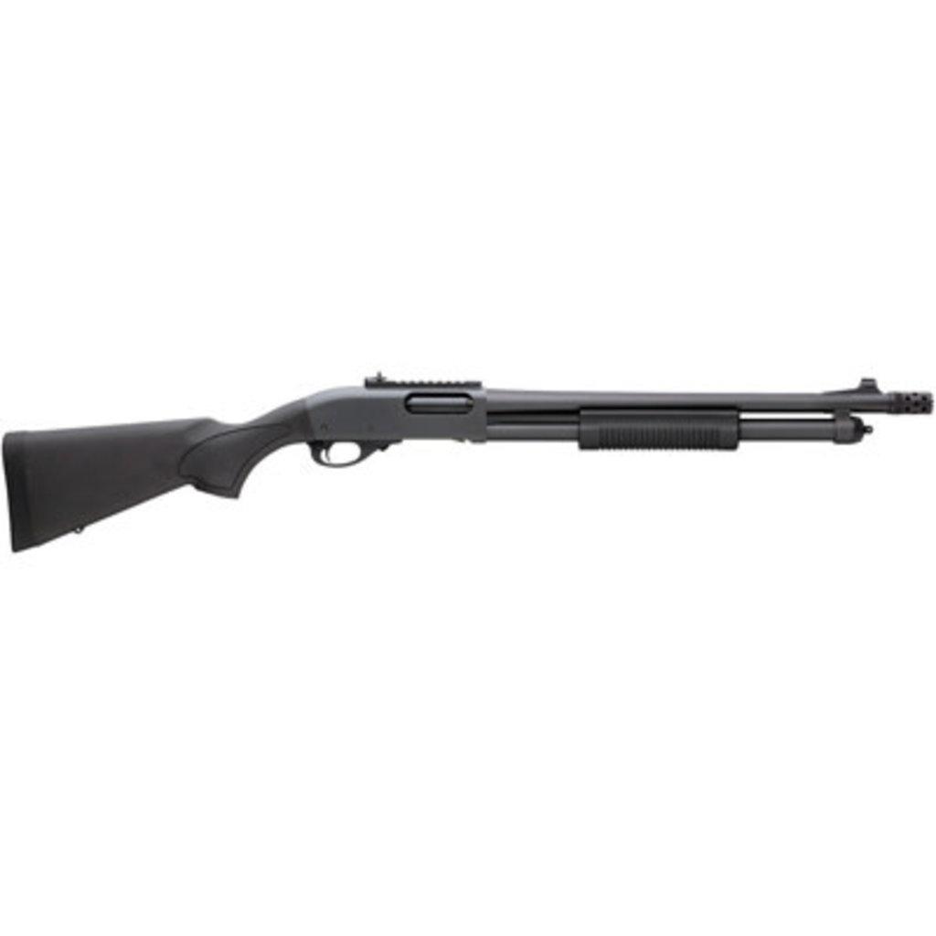 "Remington Remington, 870 Express, Pump Action, 12 Gauge, 3"" Chamber, 18.5"" Barrel, Rem Choke, Black Finish, Synthetic Stock, Ghost Ring Sight, 6Rd"
